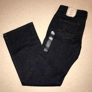 Ann Taylor Loft Original Boot Mid Rose Jeans